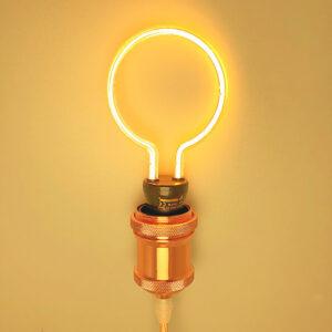 Lampadina LED Filamento Creativo a Cerchio
