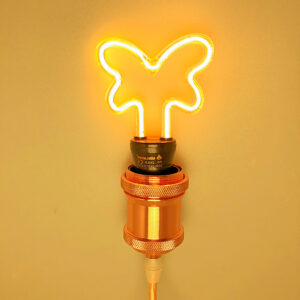 Lampadina LED Filamento Creativo a Farfalla - Illuminazione Creativa